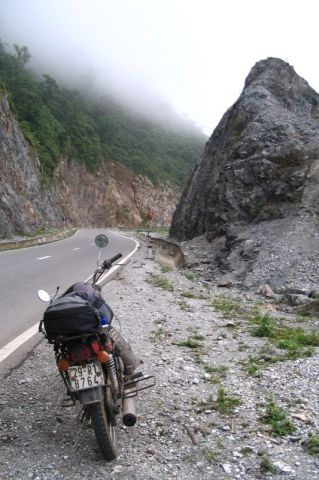 Vietnam, high-elevation-mountain-road