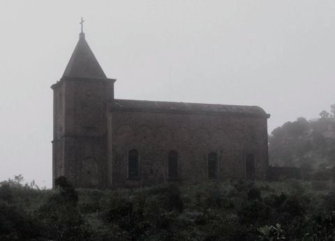 Cambodia, bokor-abandoned-church