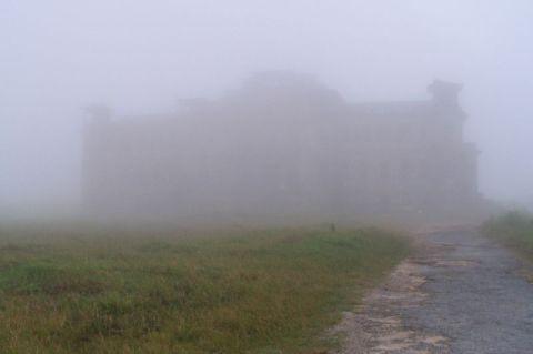 Cambodia, bokor-casino-mist